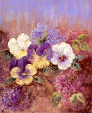 Pansies and Lilac