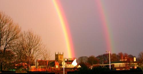 Double Rainbow in Sedgley