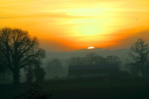 Sunset Near Claverley