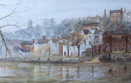 Misty Morning in Bridgnorth